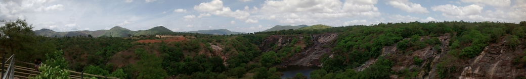 Shivasamudram Valley from top